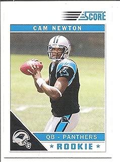 Cam Newton Carolina Panthers 2011 Score Rookie Football Card #315