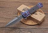 FARDEER Knife DA145 excelente Cuchillo Plegable para Exteriores