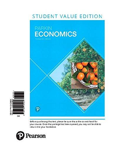 Economics, Student Value Edition (13th Edition)