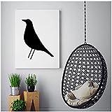 Vspgyf Eames Bird Nordic Poster Druckbare Moderne Wand