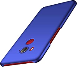 for HTC U11 Eyes Case, ACMBO [Silky Smooth Series] Ultra Thin Slim Fit [Anti-Drop] Shockproof Hard Plastic Phone Cases Cover Compatible for HTC U11 Eyes 6.0 inch, Smooth Blue