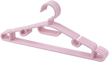 5pcs Kleurrijke Plastic Hangers for wasknijpers Wire Antislip Drogen kledingrek for volwassenen en kinderen Hanger Outdoor...