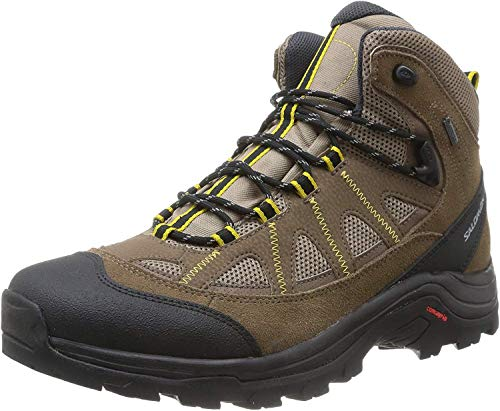 Salomon Salomon Herren Authentic LTR GTX Trekking- & Wanderstiefel, Braun (Shrew/Burro/Ray), 43 1/3