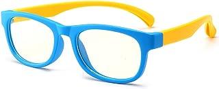 Kids Blue Light Blocking Glasses Anti Eyestrain UV Computer Eyewear Non Prescription Lens Age 3-10
