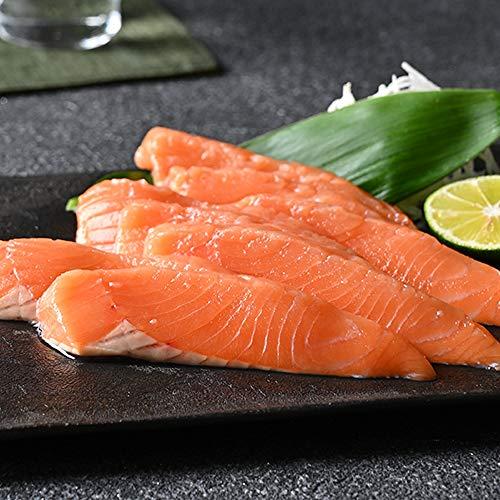 北海道 羅臼産 生時鮭 トキシラズ お刺身 480g前後×2パック サーモン 刺身 鮭