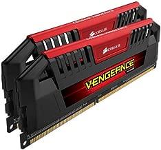 Corsair Vengeance Pro Series - 16GB (2 x 8GB) DDR3 DRAM 1866MHz C9 Memory Kit (CMY16GX3M2A1866C9R)(Red)