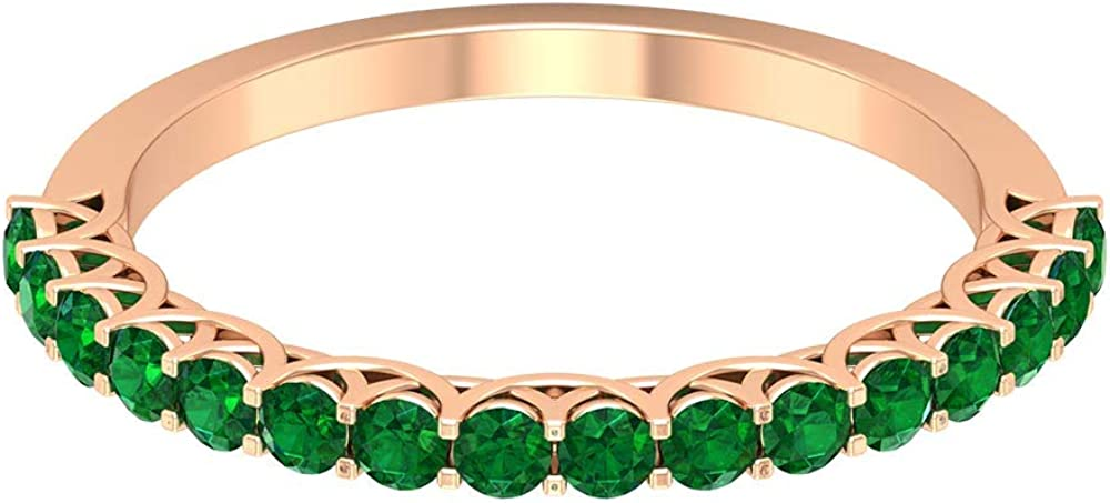 0.64 Ct Mesa Mall Our shop most popular Certified Emerald Statement Gold Antique B Wedding Ring