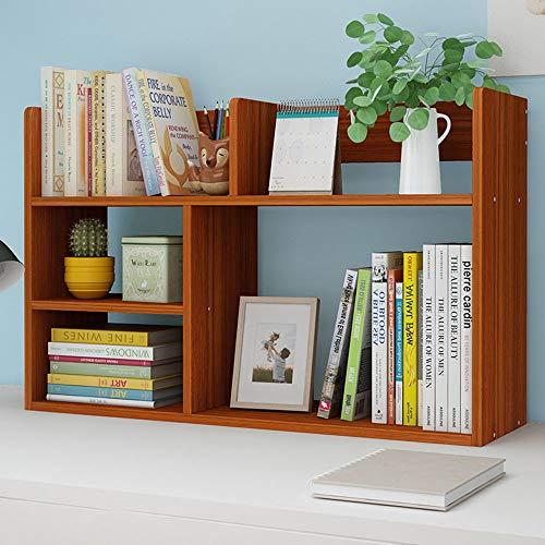 Jtoony boekenrek, klein boekenrek en boekenrek met 5 kubusvormige planken, organizer met vakjes voor cd's, opnames, boeken, binnenkantdecoratie