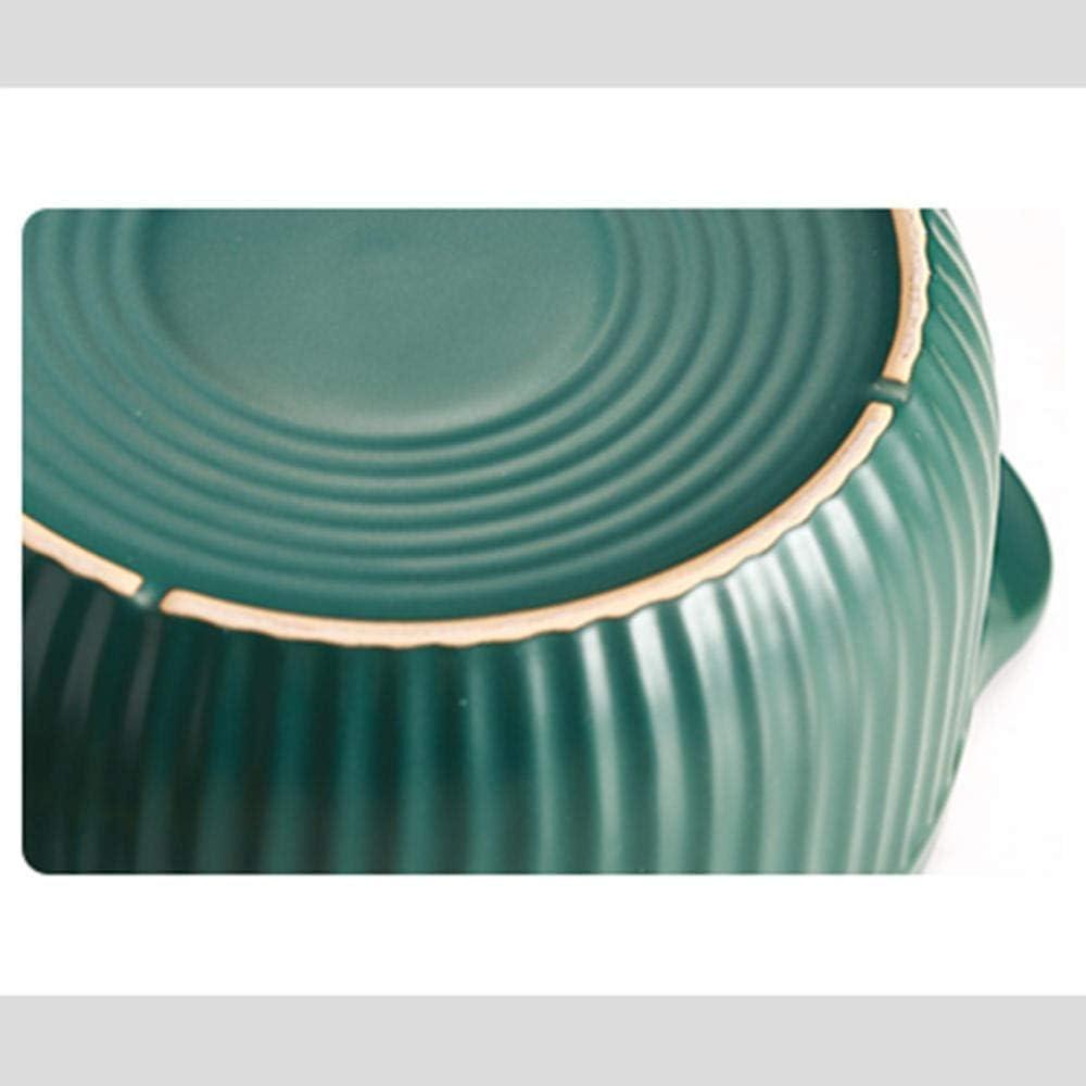 LIUSHI Casserole Plats à Casserole avec Couvercles - Casserole Ragoût Pot Ménage Pot en Céramique Soupe Ménage Casserole Ragoût Pot-5.5L 2.5l