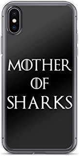 Mother of Sharks Song Lyrics Shark Lovers Thrones Game Anti-Scratch Case for iPhone Xs Max