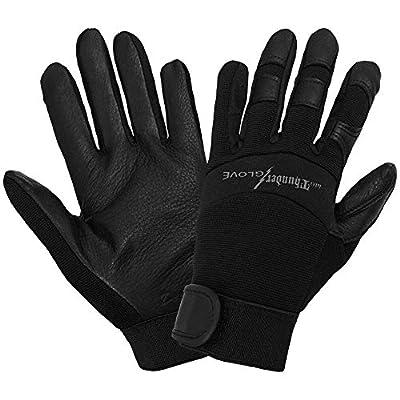 Global Glove SG7001 woThunder Glove( Deerskin Mechanics Sport Glove with Elastic Cuff, Work, 2X-Large, Black