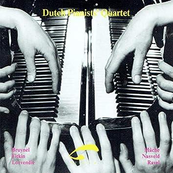 Dutch Pianists' Quartet (Works for 2 Pianos 8 Hands)