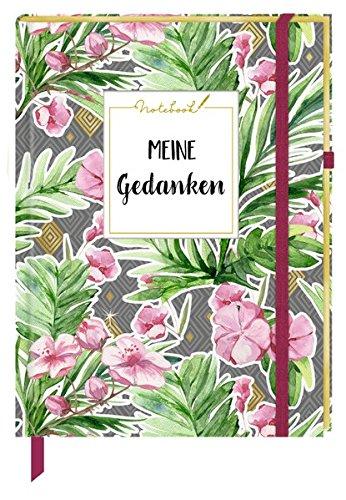 Notizbuch - Notebook Meine Gedanken (Stoffeinband)