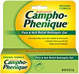 Campho-Phenique Pain & Itch Relief Antiseptic Gel, Original Formula, 0.5 Fl Oz (Pack of 1)