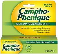 Campho-Phenique Pain Relieving Antiseptic Gel Original Formula 0.5 Oz by Campho-Phenique