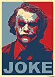 Tainsi Great Art Red and Blue Poster Heath Ledger mit