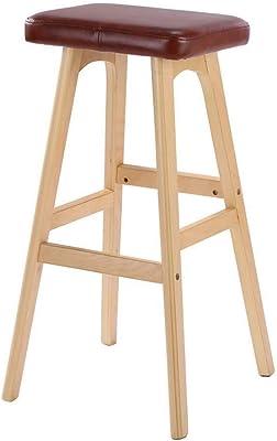 """GRIGIO Sgabello robusto con piedi in legno naturale e seduta a forma di /""""bottone/"""" Colore Atmosphera"""