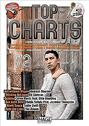 Top Charts 72 mit Playback CD: Die 6 besten und aktuellsten Hits in einer Ausgabe! Auf anderen Wegen - Thinking Out Loud - Outside - Sun Goes Down - Blank Space - Fade Out Lines