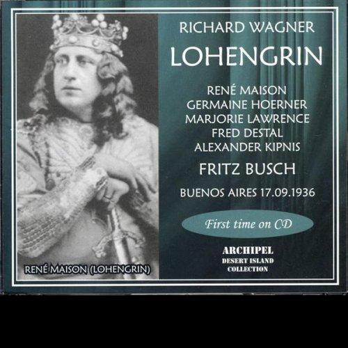 Lohengrin - Act III - Mir schwankt der Boden! (Elsa) (Wagner)