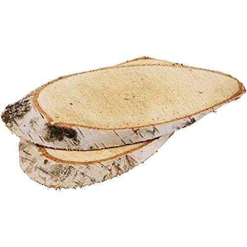 Creotime, 567030, dischi in legno, 15 x 9 cm, confezione da 1 (1 x 7 pezzi)