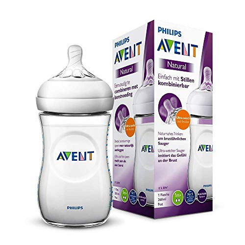 Mamadeira Petala Transparente 260 ml Philips Avent
