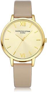 HOT Watch,baskuwish 2018 New LVPAI Women Casual Fashion Quartz Clock Dress Gift Wristwatch (Khaki)