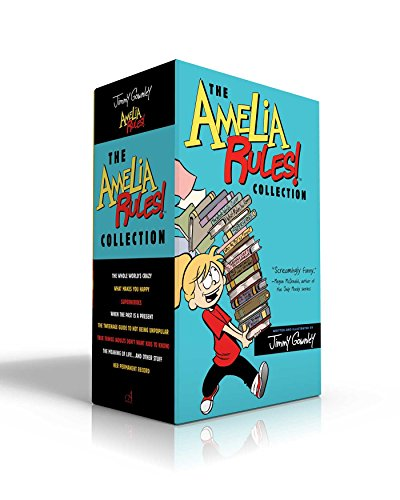 The Amelia Rules! Collection: The Whole World's Crazy; What Makes You Happy; Superheroes; When the Past Is a Present; Th