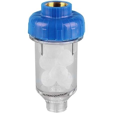 Filtri Acqua Italia Filtro Anticalcare per Lavatrice Lavastoviglie in Polifosfato