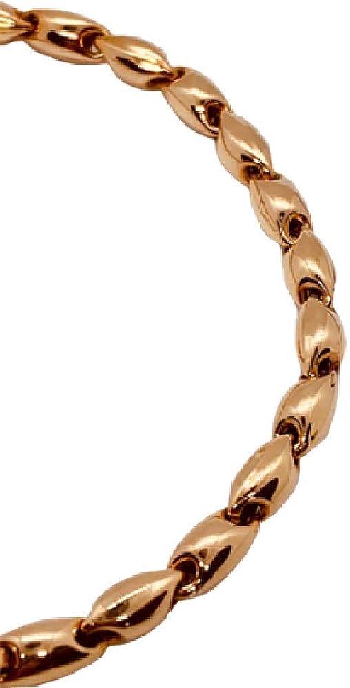 Chimento,bracciale unisex,in oro rosa 18 kt(6,80 gr)della collezione