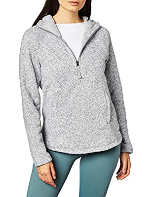 The North Face Women's Crescent Hooded Pullover, TNF Light Grey Heather, M