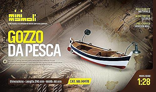 te hará satisfecho MINI MAMOLI - - - Modello Kit Barca GOZZO DA Pesca Serie Scala 1 28 - DUS_MM70  artículos novedosos