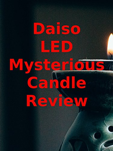 Review: Daiso LED Mysterious Candle Review