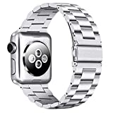 PUGO TOP Compatible with Apple Watch Band 42mm 44mm iWatch iPhone Watch Replacement Bracelet Li…