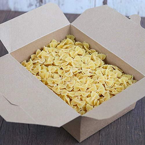 süssundclever.de® Bio Hartweizennudeln | Farfalle aus Italien | 2,0 kg (2 x 1,0 kg) | Pasta | plastikfrei und ökologisch-nachhaltig abgepackt