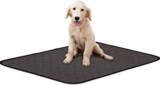 2 Pack Large Pee Pads for Dogs Puppy,Reusable Multi-Use Kennel Mat/Dog Bed/Dog Car Mat/Crate Mat,Training Pad for Home and...