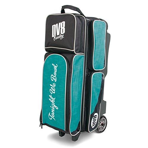 DV8 Circuit Triple Roller Bowlingtasche, Blaugrün
