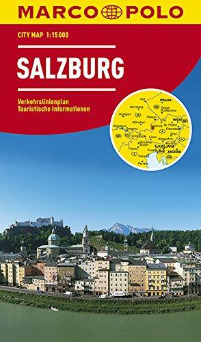 MARCO POLO Cityplan Salzburg 1:15 000: Stadsplattegrond 1:15 000 (MARCO POLO Citypläne)