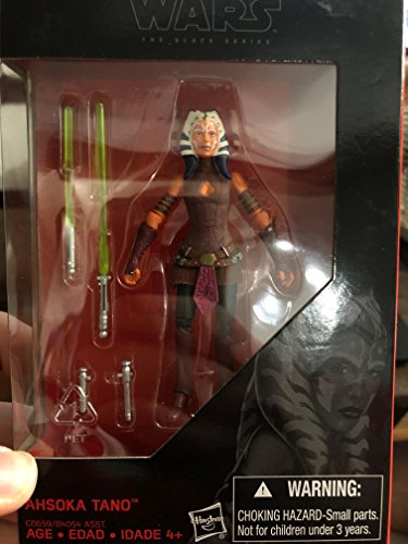 Hasbro Star Wars 2016 The Black Series, Ahsoka Tano Exclusive Figure, C0659