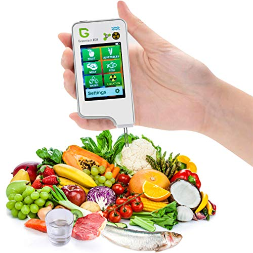 Greentest Portable Digital Nitrate Tester Food Radiation Detector Geiger Counter