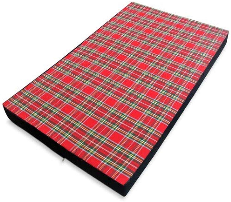 Baldiflex Soft Dog Bed Cushion for Berny Dog with Memory Foam Height 10 cm, 8 + 2 cm Memory 100 x 60
