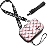 Handy Umhängetasche - Mode Damen Schultertasche Klein Geldbörse Crossbody Handtasche - Hart ABS+pc...