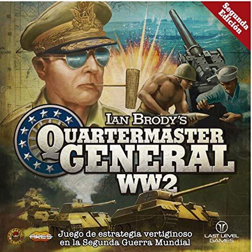 Last level- Ww2 Quatermaster General (Spanish) Juegos de Mesa, Multicolor (BGQUATERMAS)