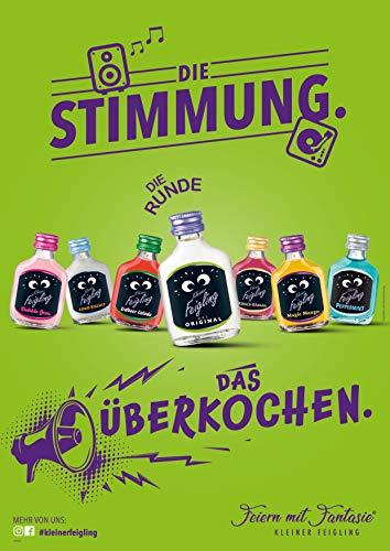Kleiner Feigling | Peppermint | 1 x 500ml | Marken-Spirituose | Premium Likör | Feiern mit Fantasie | Der Party – Shot - 2