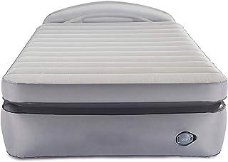 Air Mattress with Built-in Pump & Headboard   Comfort Lock Laminated Air Bed