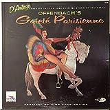Al D'Artega Conducts The New York Festival Symphony Orchestra , Jacques Offenbach - Gait Parisienne - Design Records - DLP82, Design Records - DLP-82