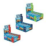 Kellogg's Nutri-Grain Variety Pack Soft Baked Breakfast Bars - Grab-N-Go Snacks, Apple Cinnamon, Blueberry, and Strawberry (48 Count)