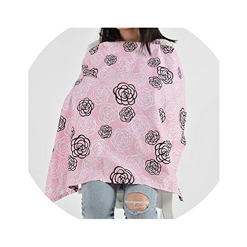 Great Features Of byYouthStore Cotton Grey Wave Arrow Breathable Baby Nursing Covers Mum Breastfeedi...