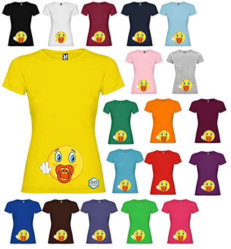 Faces T-Shirt Donna Made in Italy 100/% Cotone Serigrafia Manuale Freddie Mercury Crown