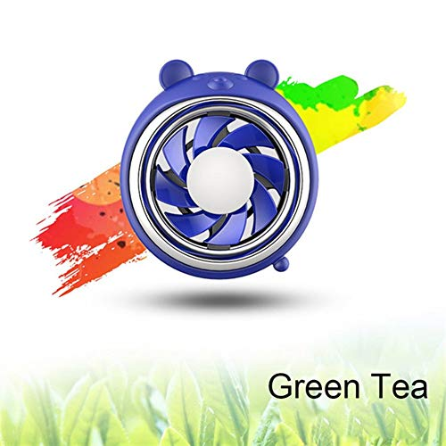 Fragancia de Coches Clip Animal de la Historieta de Salida de Aire ambientador Perfume de Coches Sabor Olor Regalos Auto de la decoración difusor Recorte Accesorios (Color : Green Tea)