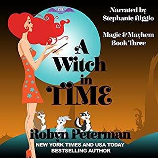A Witch in Time audiobook cover art